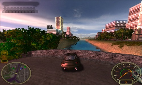 3d city racing game