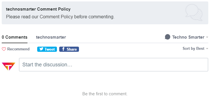 Integrate comment section in website