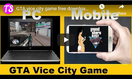 download free gta vice city game