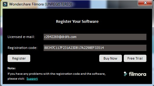 Wondershare Filmora Crack 10.5.10.0 + Registration Key Free