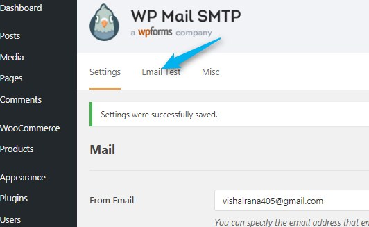 how to integrate Email gateway in Wordpress  2