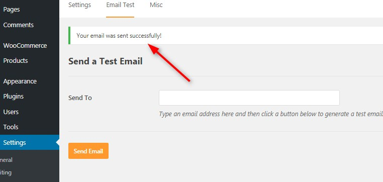 how to integrate Email gateway in Wordpress 3