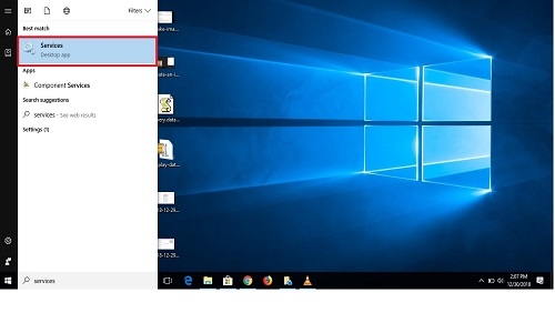 windows 10 service disabled