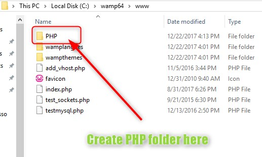 how to install wamp 7 -techno smarter