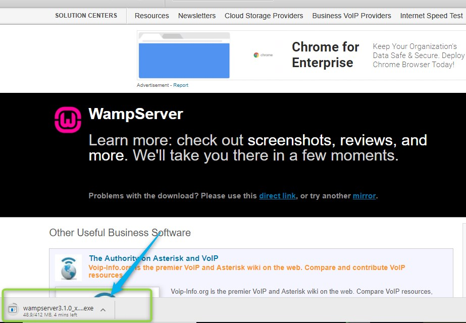 how to install wamp server on localhost-technosmarter