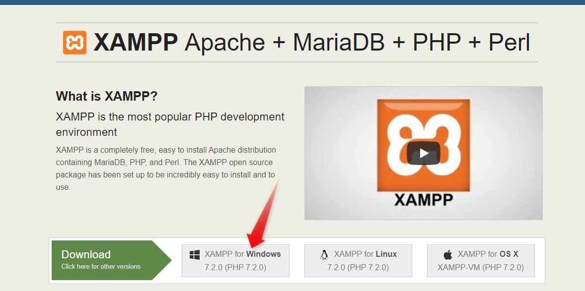 Xammp local server ko kaise download karte hain