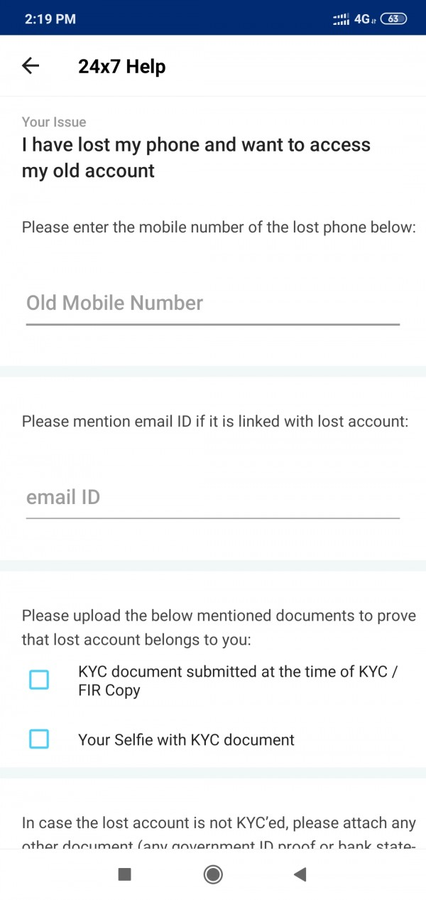 Paytm mobile number change without OTP