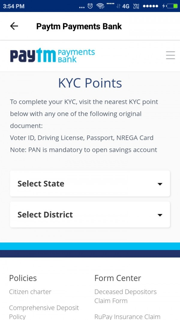 paytm-kyc-at-doorstep-is-not-possible-paytm-latest-update