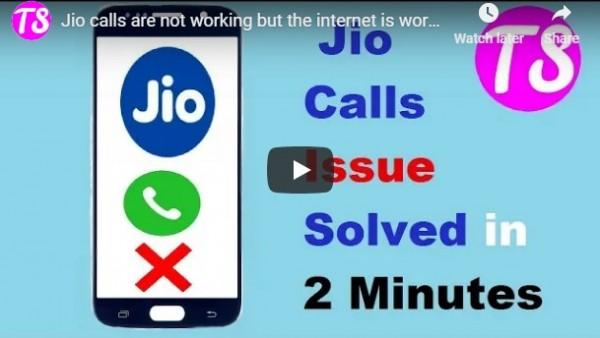 Fix jio calls issue