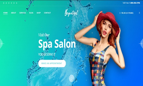 Spa Beauty Wp Theme