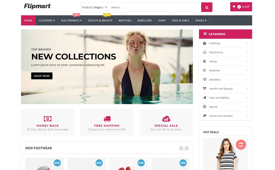 Flipmart wordpress theme