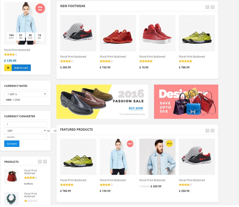 Flipmart theme like flipkart website